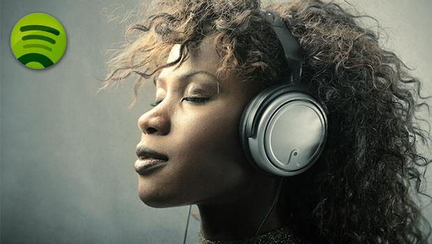 luisteren naar spotify