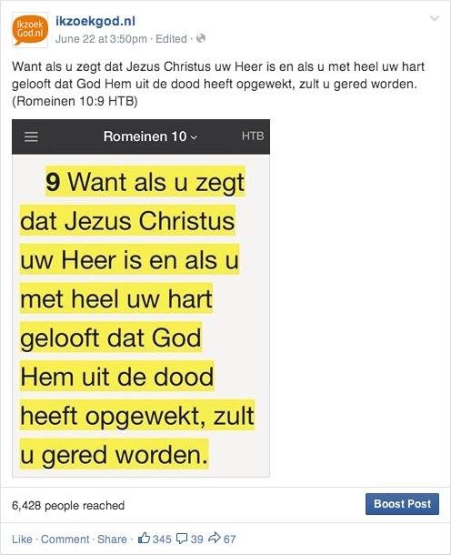 ikzoekgod.nl bijbeltekst facebook