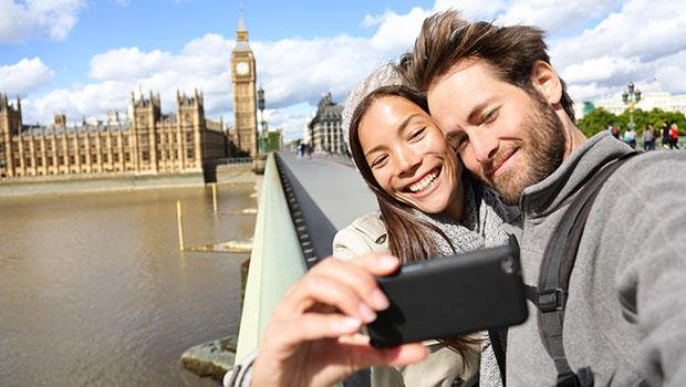 smartphone vakantie londen