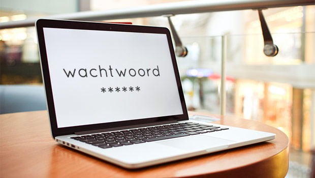 wachtwoord computer