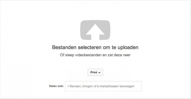 YouTube uploaden