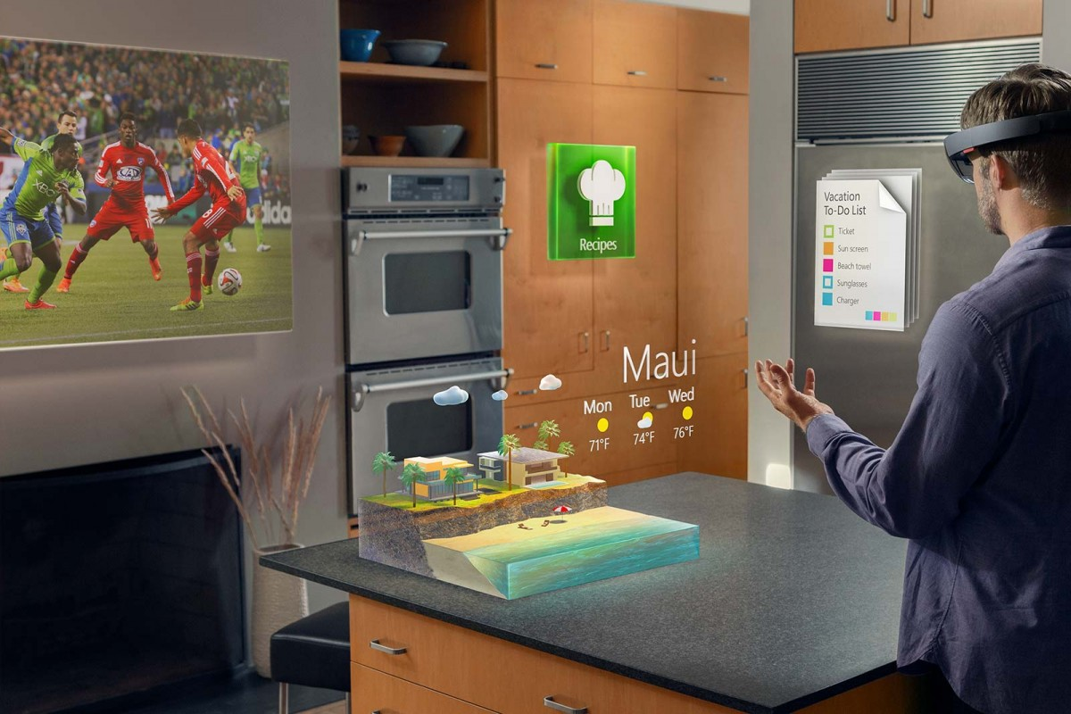 HoloLens Microsoft demo