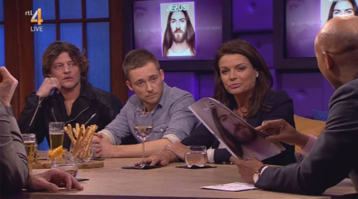 Jezus ! in RTL Late night