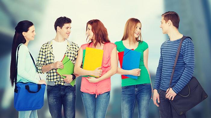 studenten discussieren