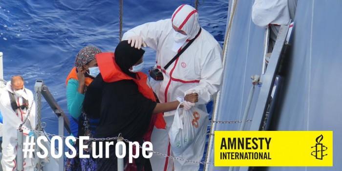 #SOSEurope - SOS Europa: Eerst mensen, dan grenzen