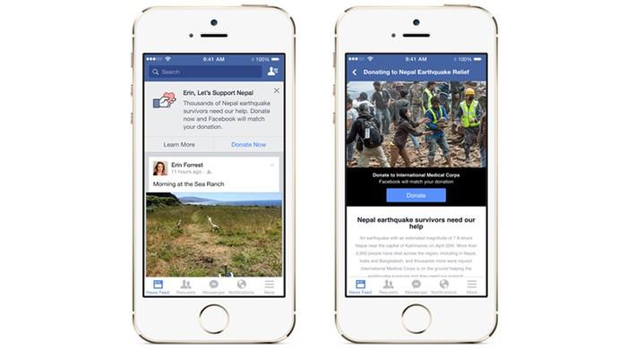 Facebook Nepal support