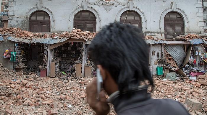 Nepal aardbeving