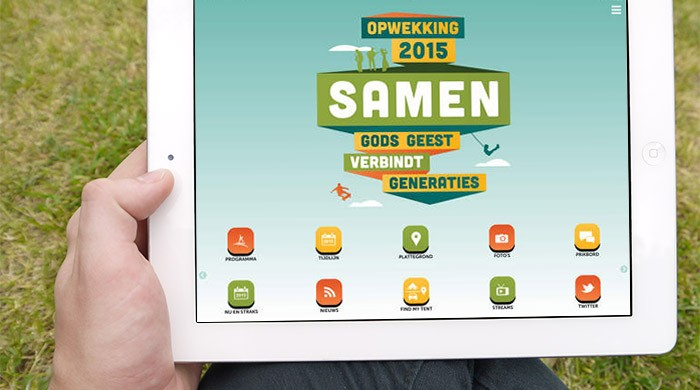 Opwekking 2015 iPad app