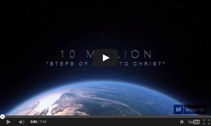 10 miljoen geloofsstappen