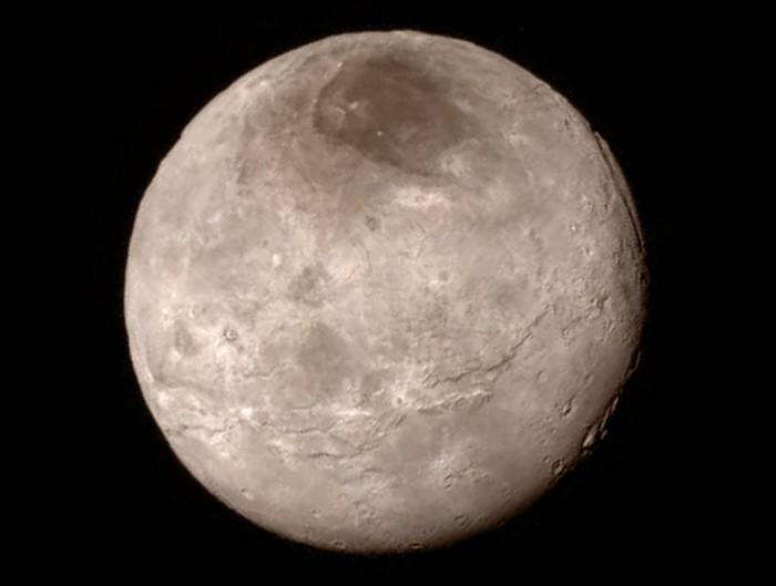 Charon (een van de Pluto manen)