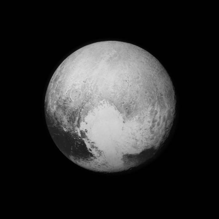 Pluto foto van #NASA