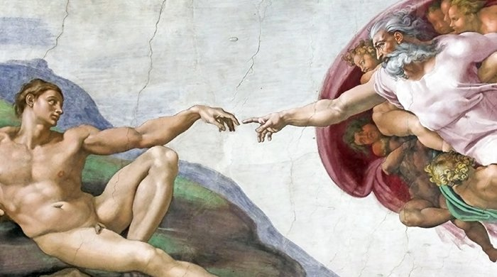 de schepping van adam