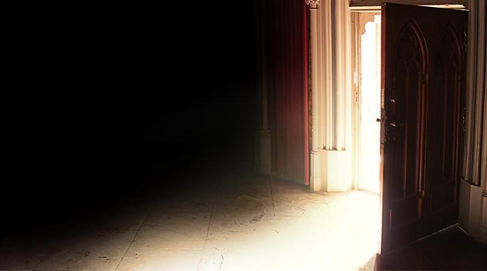 open deur kerk