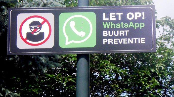 WhatsApp buurtpreventie