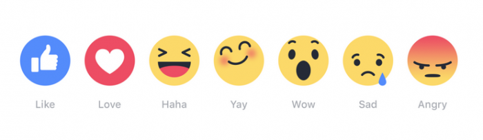 Facebook Like Emoji's