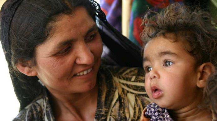 Afghaans vluchtelingengezin