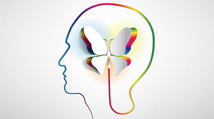 vlinder in je hoofd
