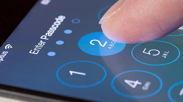 iphone beveiliging