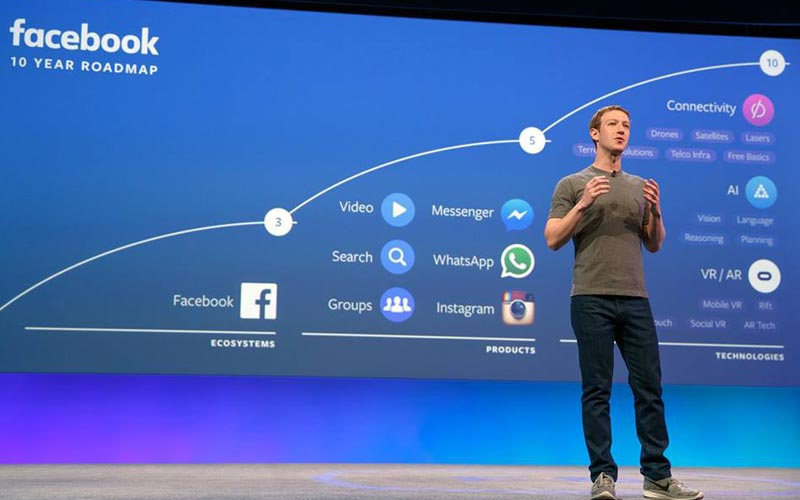 Mark Zuckerberg presenteert Chat Bots en Virtual Reality