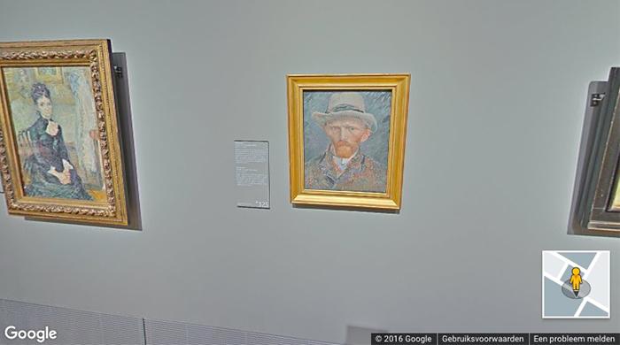 rijksmuseum in Google Streetview