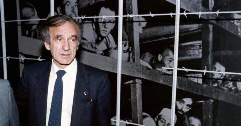 Elie Wiesel in het concentratiekamp
