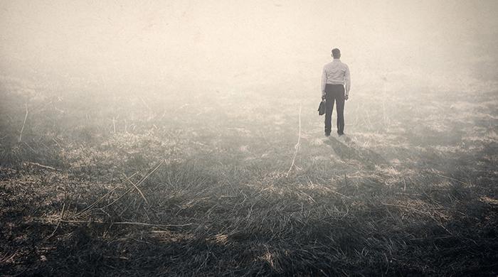 man-in-de-mist