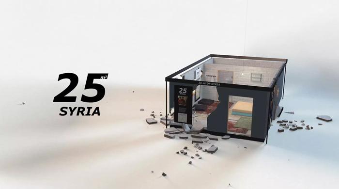 25m2 syria IKEA