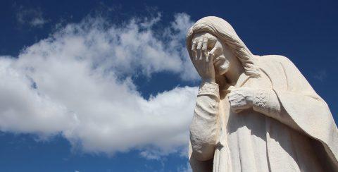 Jezus huilde (standbeeld Oklahoma)