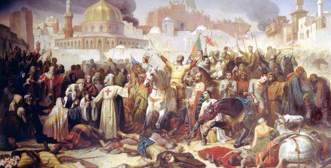 Inname van Jeruzalem tijdens de kruistochten