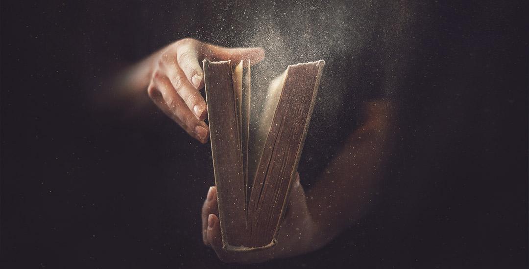oud boek vol verhalen