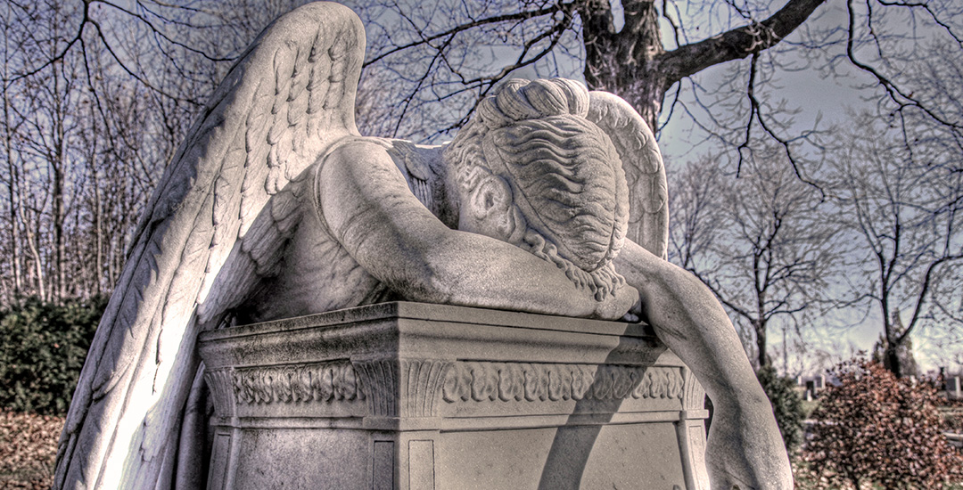 Huilende engel