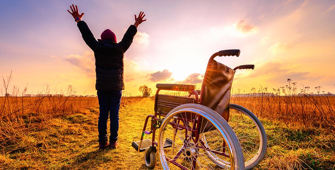 genezen uit de rolstoel