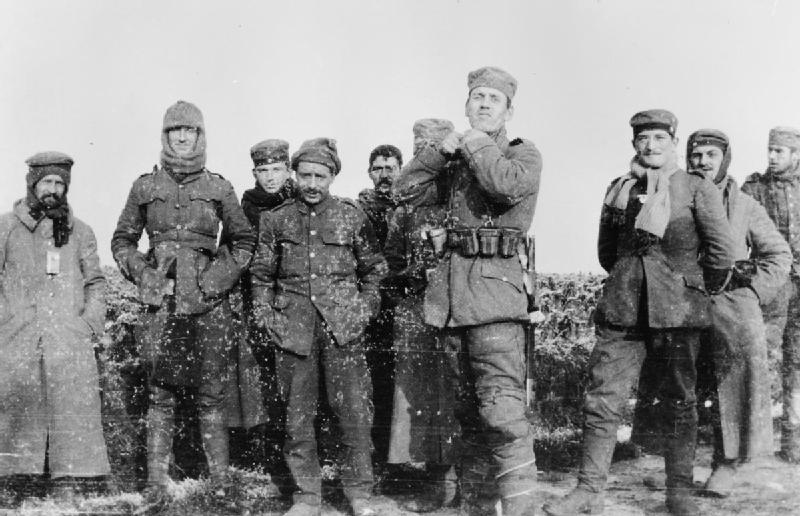 kerstvrede 1914 Duitse en Britse soldaten