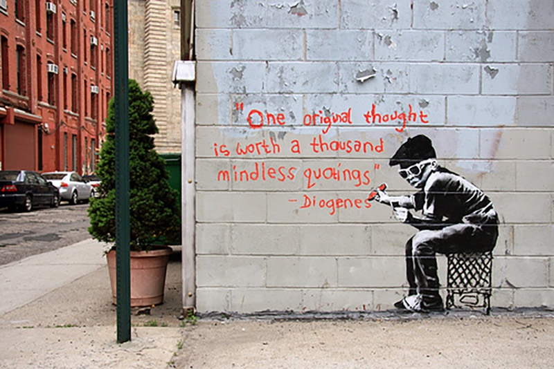 Banksy: One original thought