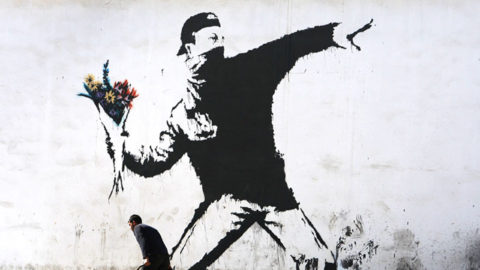 background banksy