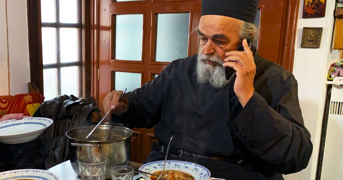 Fr. Epifanios calling