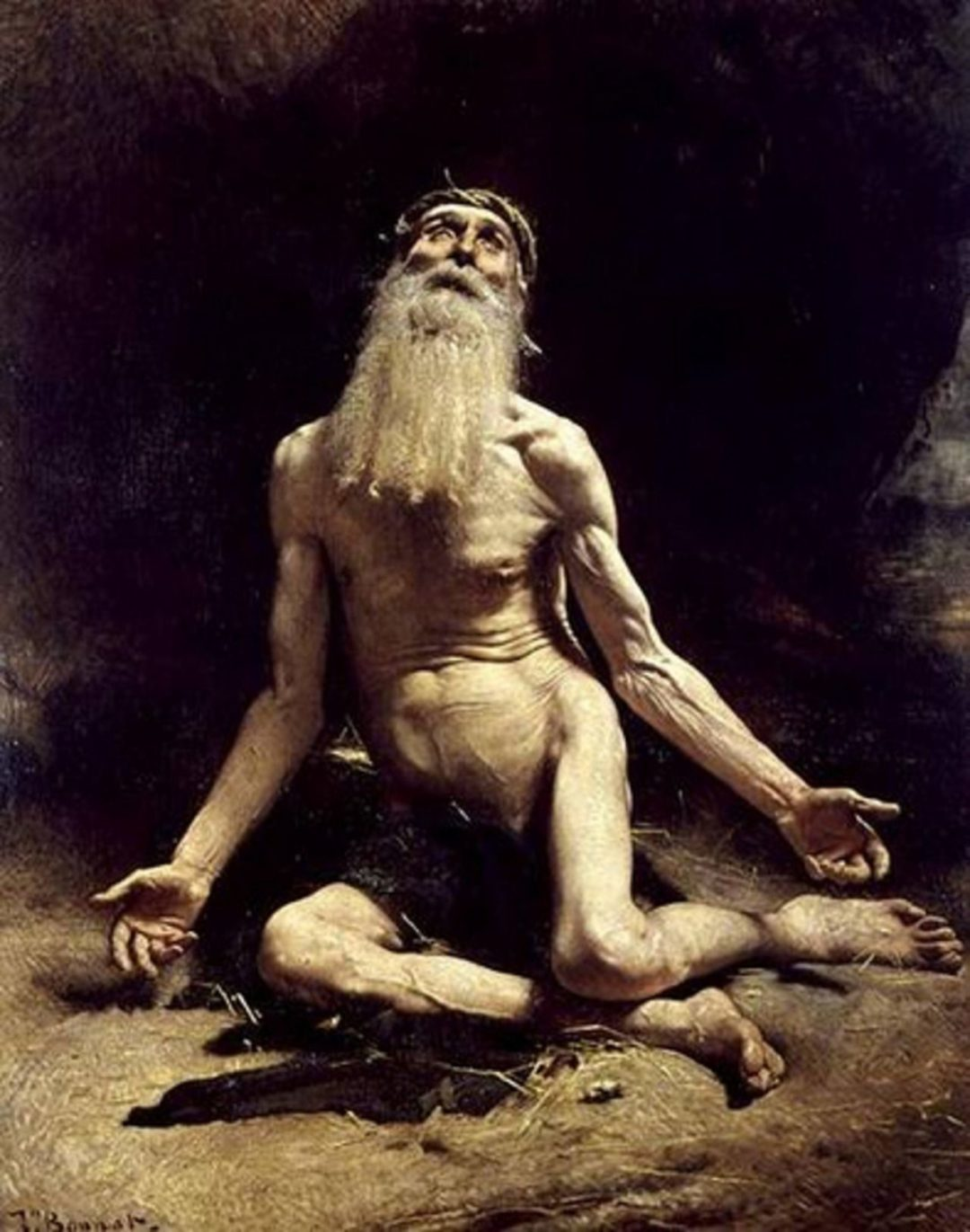 Job (1880) Léon Bonnat