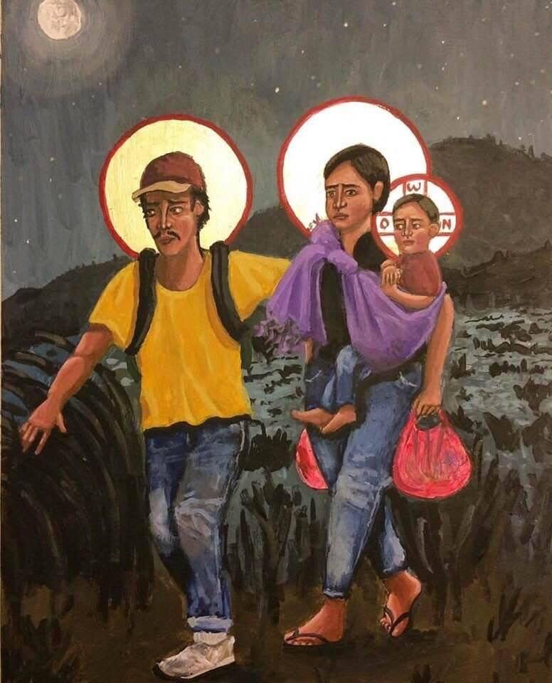 Heilige Familie door Kelly Latimore