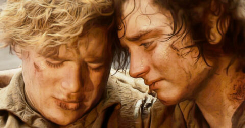 Frodo en Sam (Lord of the Rings)