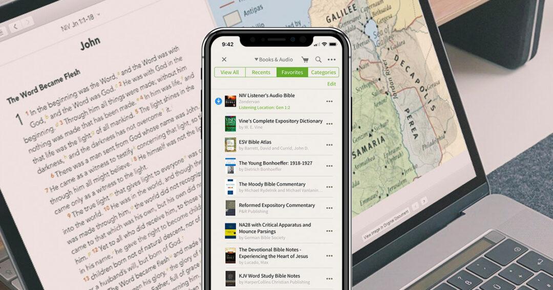 olivetree bijbel app
