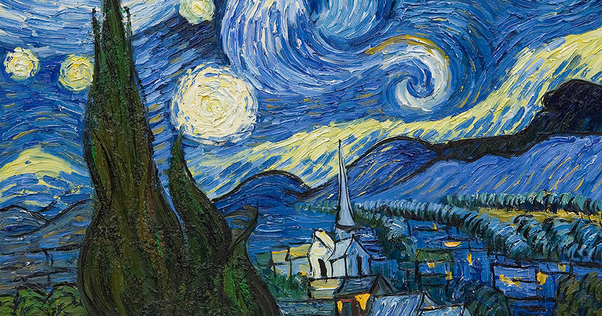 Starry Night ~ Vincent van Gogh