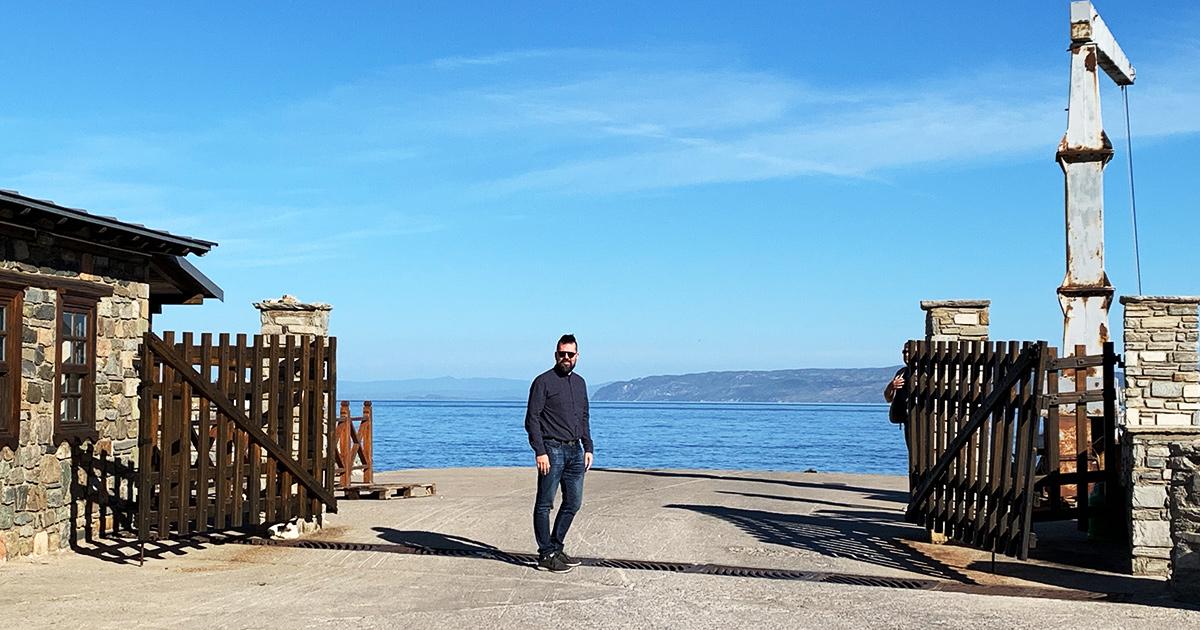 Haven in Dafnis, Athos