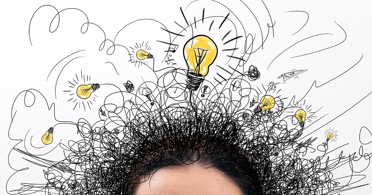 ADHD actief brein