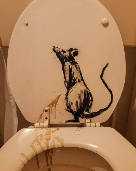 quarantaine kunst van Banksy