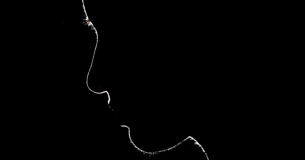 silhouette portret