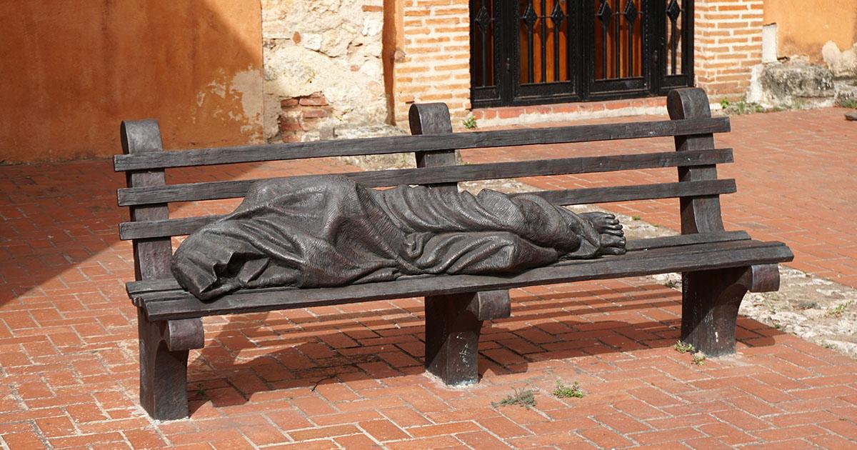 Dakloze Jezus, Dominican Order Church, Santo Domingo, Dominican Republic.