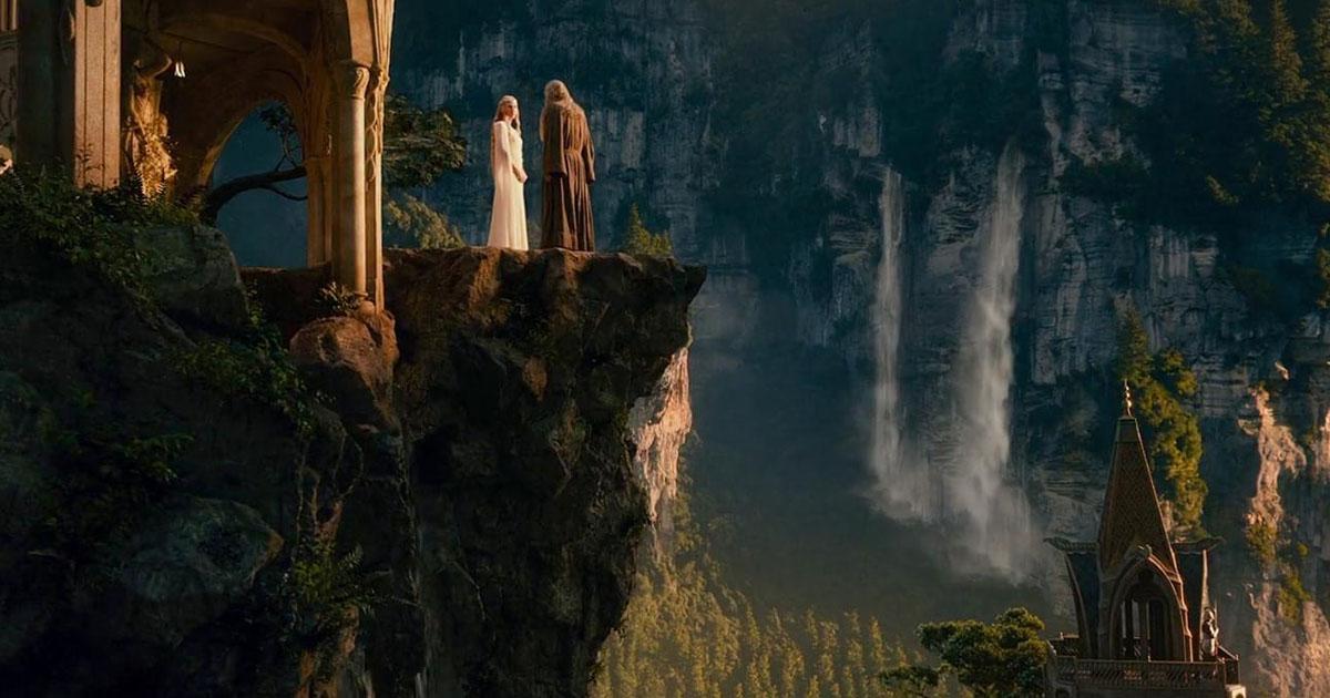 Gandalf en Galadriel