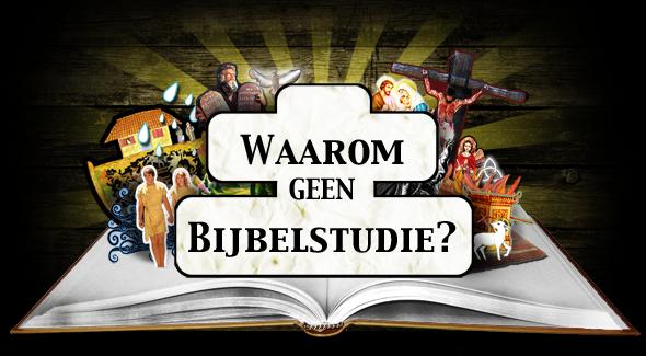 Geen Bijbelstudie
