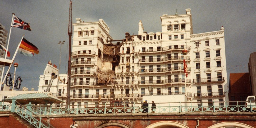 Grand Hotel Following Bomb Attack 1984-10-12
