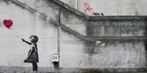 Banksy : there is always hope